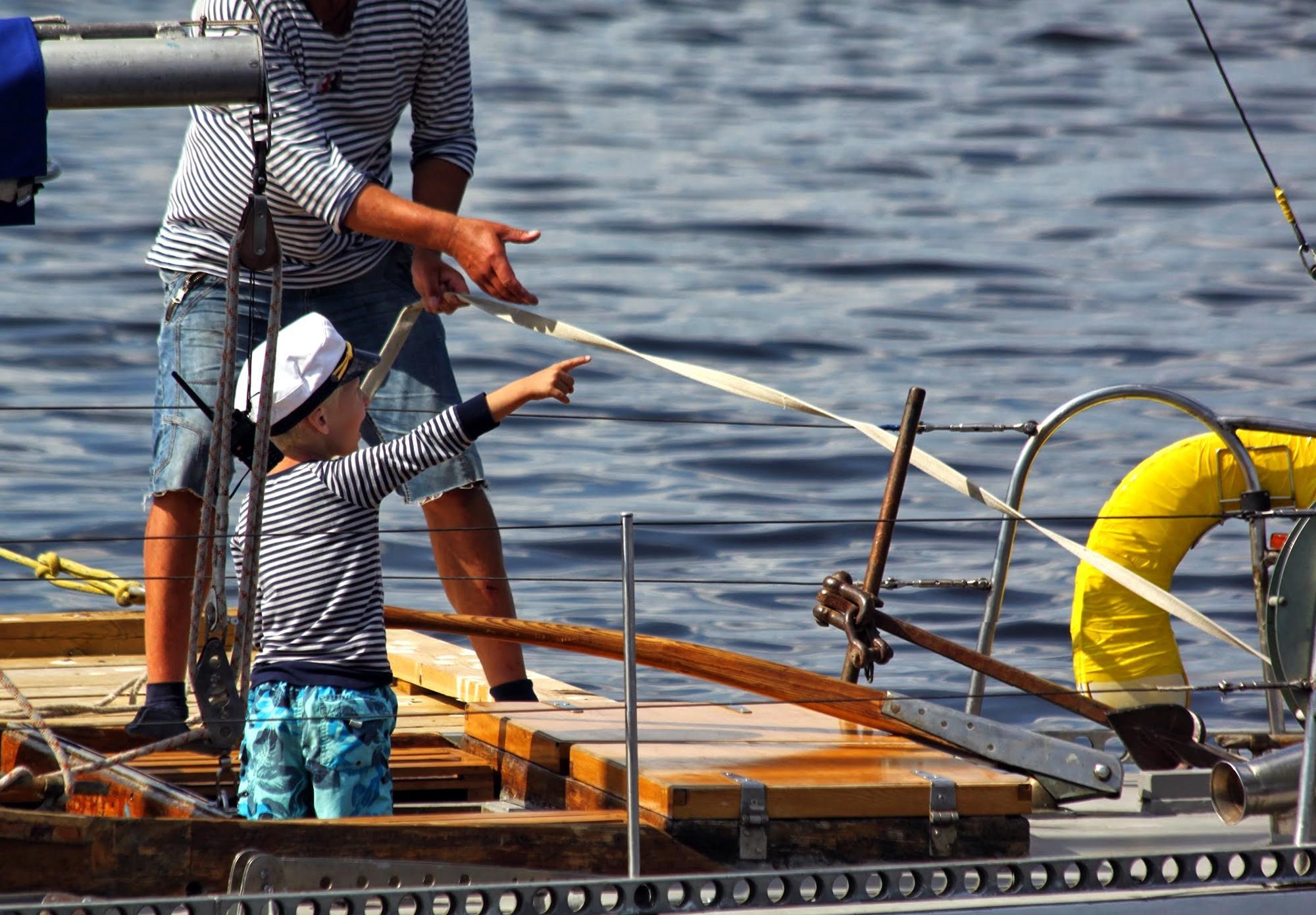 Veneessä Lapsi