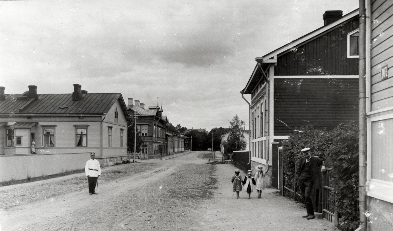 Natalia Linsén, Porvoon katunäkymä
