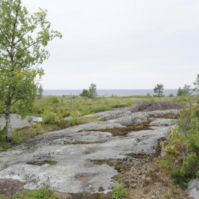 Kalliomaisemaa Kokkolassa